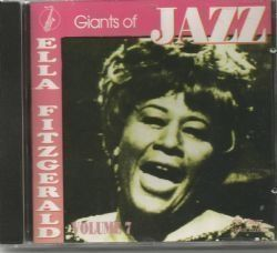 CD ELLA FITZGERALD - GIANTS OF JAZZ (USADO/OTIMO)