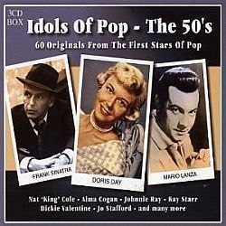 CD IDOLS OF POP THE 50S (BOX 03 CDS)