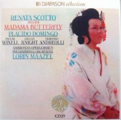 Cd Placido Domingo & Renata Scotto - Madama Butterfly
